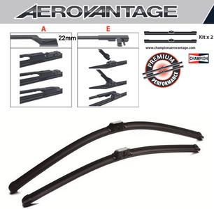 Champion Aerovantage Flat Blade Kit 600/450 mm.