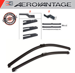 Champion Aerovantage Flat Blade Kit 600/480 mm.