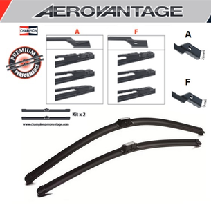 Champion Aerovantage Flat Blade Kit 600/500 mm.
