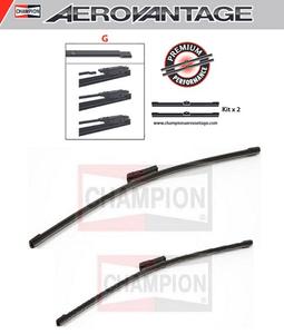 Champion Aerovantage Flat Blade Kit 650/400 mm.