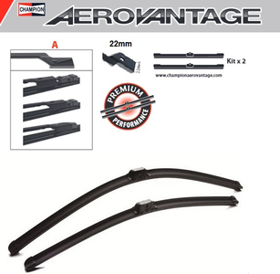 Champion Aerovantage Flat Blade Kit 650/550 mm.