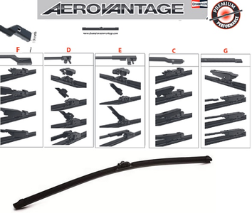 Champion Aerovantage Flat Blade Kit 650 mm.