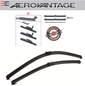 Champion Aerovantage Flat Blade Kit 650/550 mm.