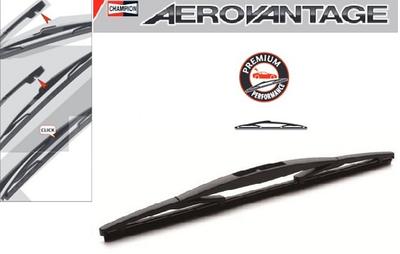 Champion Aerovantage Rear Plastic Blade 350 mm.