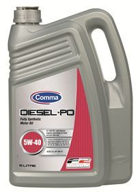Масло моторное Comma Diesel-PD 5W-40, 5 л.