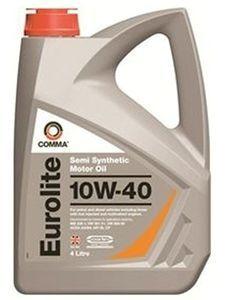 Масло моторное Comma Eurolite 10W-40, 4 л.