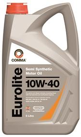 Масло моторное Comma Eurolite 10W-40, 5 л.