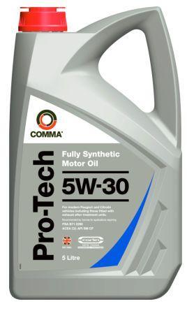 Масло моторное Comma Pro-Tech 5W-30, 5 л.