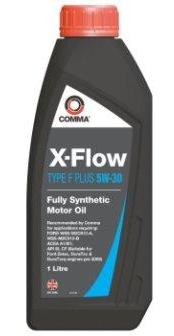 Масло моторное Comma X-Flow Type F Plus 5W-30, 1 л.