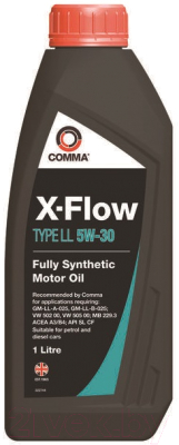 Масло моторное Comma X-Flow Type LL 5W-30, 1 л.