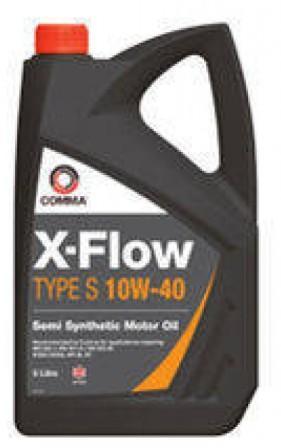 Масло моторное Comma X-Flow Type S 10W-40, 5 л.