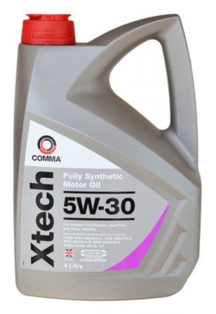 Масло моторное Comma Xtech 5W-30, 4 л.