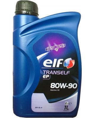 Масло трансмиссионное Elf Tranself EP 80W-90, 1 л.