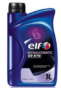 Масло трансмиссионное Elf ATF RenaultMatic D3 Syn, 1 л.