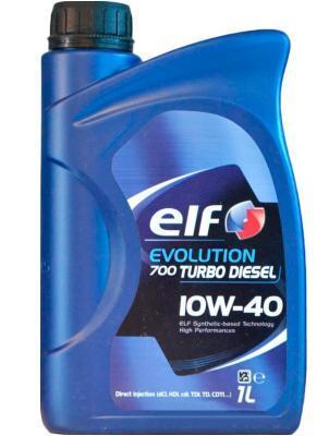 Elf Evolution 700 Turbo Diesel 10W-40, 1 л