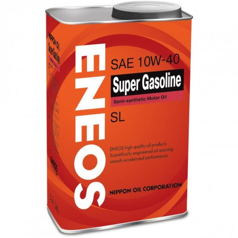 Масло моторное Eneos Super Gasoline 10W-40, 1 л.