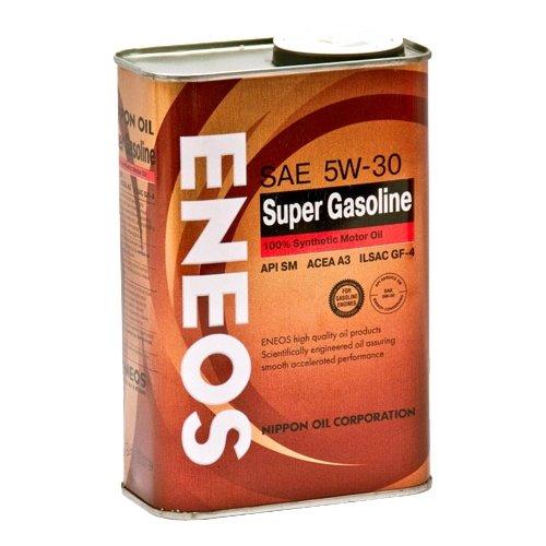 Масло моторное Eneos Super Gasoline 5W-30, 1 л.