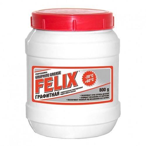 Смазка графитная Felix, банка, 800 гр.