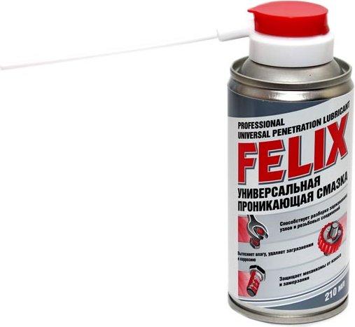 Смазка универсальная Felix (жидкий ключ) аэрозоль, 210 мл.