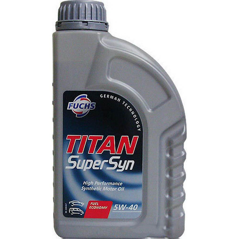 Масло моторное Fuchs Titan SuperSyn 5W-40, 1 л.