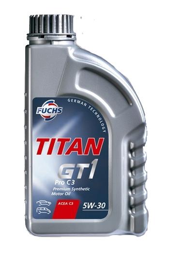 Масло моторное Fuchs Titan GT1 Pro C3 5W-30, 1 л.
