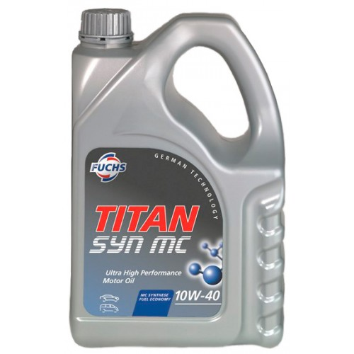 Масло моторное Fuchs Titan Syn MC 10W-40, 4 л.