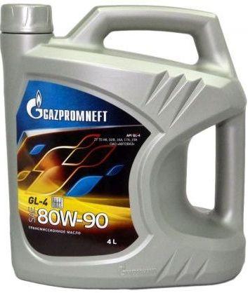 Масло трансмиссионное Газпромнефть 80W-90, 4 л.
