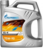 Масло трансмиссионное Газпромнефть 75W-90 4 л.