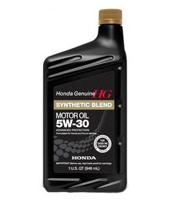 Масло моторное Honda Synthetic Blend 5W-30, 1 л.