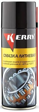 Смазка универсальная литиевая Kerry KR942, 520 ml.