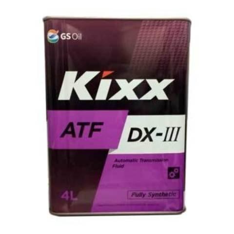 Масло трансмиссионное Kixx ATF Multi, 4 л.