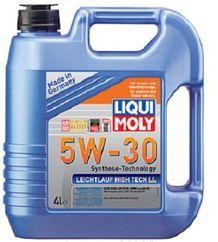 Масло моторное Liqui Moly Leichtlauf High Tech LL 5W-30, 4 л.