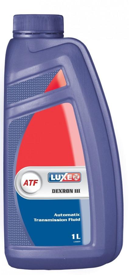 Масло трансмиссионное Luxe ATF Dextron III, 1 л.