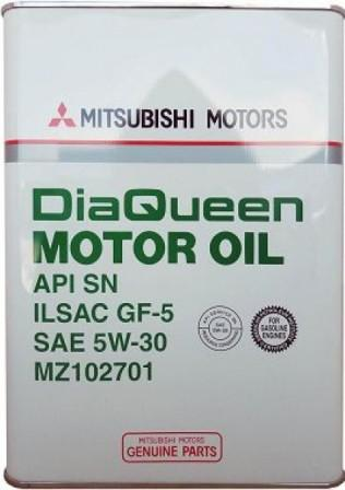 Масло моторное Mitsubishi DIA Queen 5W-30, 4 л.