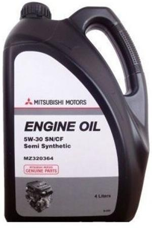 Масло моторное Mitsubishi Engine Oil 5W-30, 4 л.