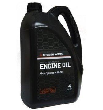 Масло моторное Mitsubishi Engine Oil 0W-30, 4 л.