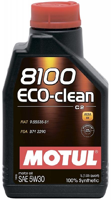 Масло моторное Motul 8100 Eco-Clean 5W-30, 1 л.