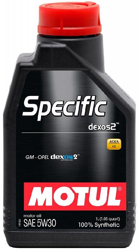 Масло моторное Motul Specific Dexos 2 5W-30, 1 л.