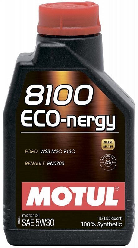 Масло моторное Motul 8100 Eco-Nergy 5W-30, 1 л.