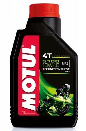 Масло моторное Motul 5000 4T 10W-40, 1 л.