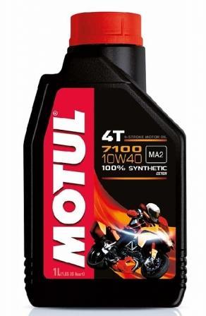 Масло моторное Motul 7100 4T 10W-40, 1 л.