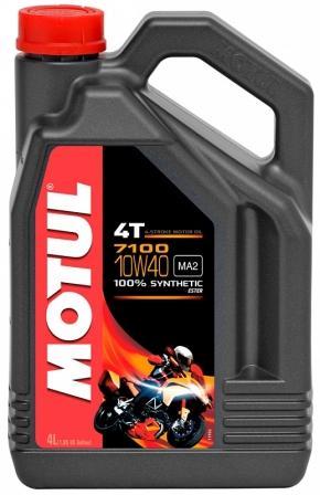 Масло моторное Motul 7100 4T 10W-40, 4 л.