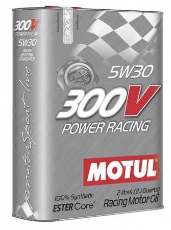 Масло моторное Motul 300V Power Racing 5W-30, 2 л.