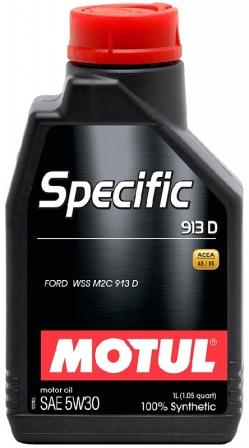 Масло моторное Motul Specific 913D 5W-30, 1 л.