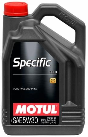Масло моторное Motul Specific 913D 5W-30, 5 л.