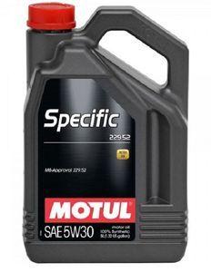 Масло моторное Motul Specific 229.52 5W-30, 5 л.