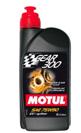 Масло трансмиссионное Motul Gear 300 75W-90, 1 л.