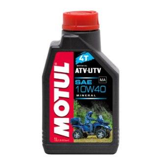 Масло моторное Motul ATV-UTV 4T 10W-40, 1 л.