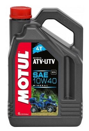 Масло моторное Motul ATV-UTV 4T 10W-40, 4 л.