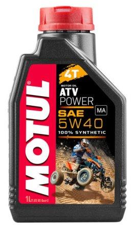 Масло моторное Motul ATV Power 4T 5W-40, 1 л.